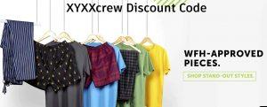 XYXXcrew Discount Code