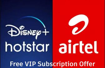 airtel hotstar free vip subscription offer