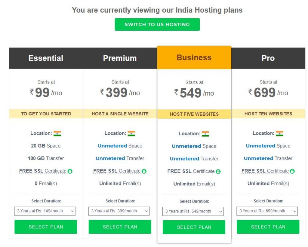 BigRock Black Friday windows hosting plans