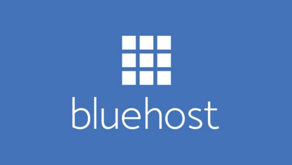 bluehost logo for landing page