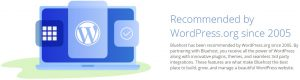 bluehost wordpress recommended