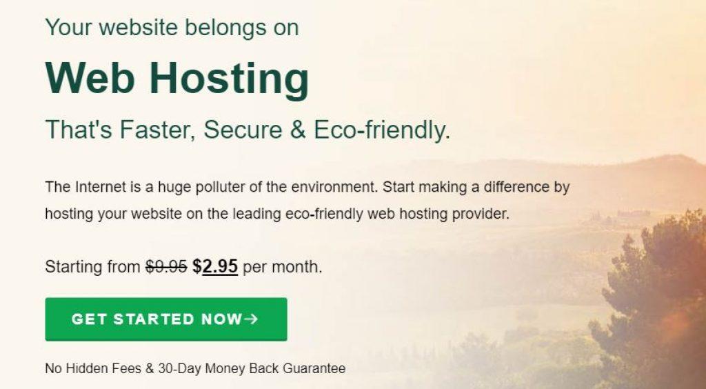 greengeeks web hosting offer