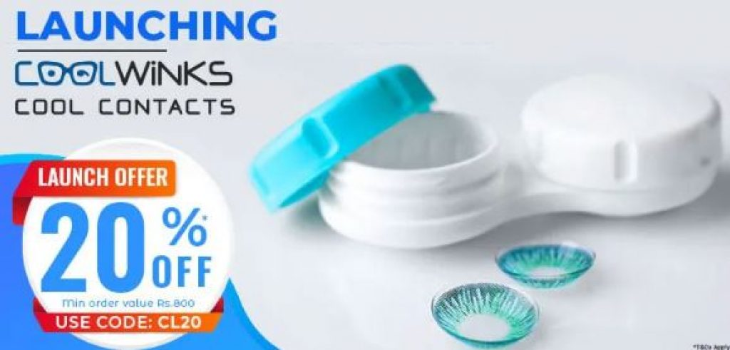 Coolwinks Contact Lens Offer