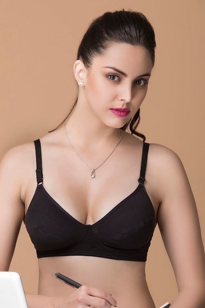 Buy Non-Padded Non-Wired Bra - Cotton Rich Online India, Best Prices, COD -  Clovia - BR0797P13