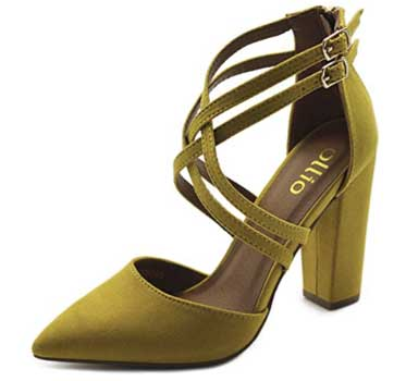 Ollio Ankle Strap Heels - High Heels Shoes For Women