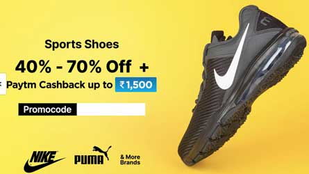 Paytm Mall Shoes Promo Code