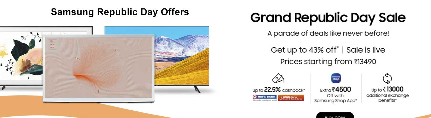 Samsung Republic Day Offers