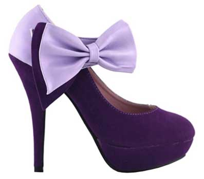 Show Story Bow Ankle Platform Heels - High Heels Shoes For Women