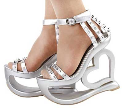 Show Story Fantasy Heart Heels - High Heels Shoes For Women