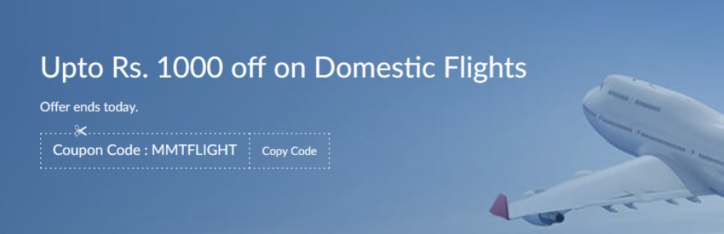 Domestic Flights Booking Offers