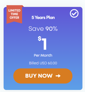 Ivacy 5 year lifetime plan subscription
