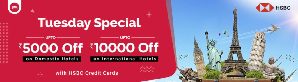 Goibibo HSBC Hotel Offer