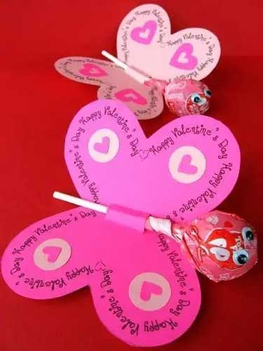 Butterfly Cards - Handmade Valentine Day Card Ideas for Friends