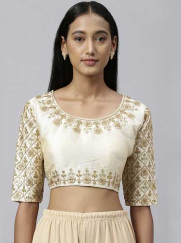 Embroidery and Embellished Blouse