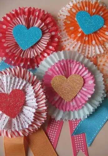Flower Cards - Handmade Valentine Day Card Ideas for Friends