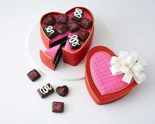 Heart Cupcake Box For Your Heart