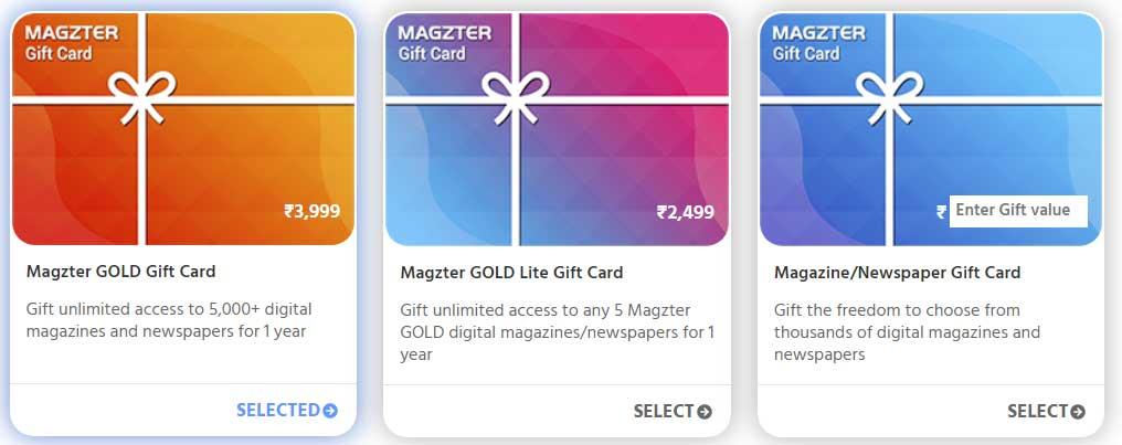 Magzter Digital Magazine Gift Subscription