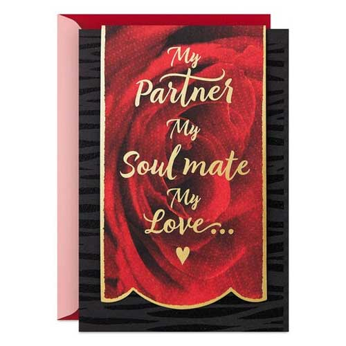 My Soul Mate Valentine's Day Card - Handmade Valentine Day Card Ideas for husband