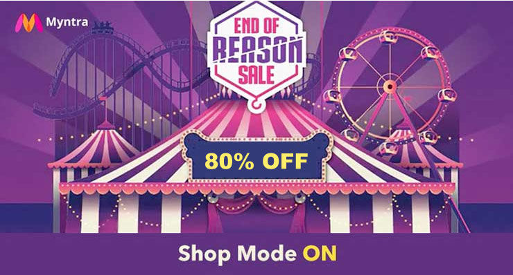 End of Reason Sale - Myntra upcoming sale 2021
