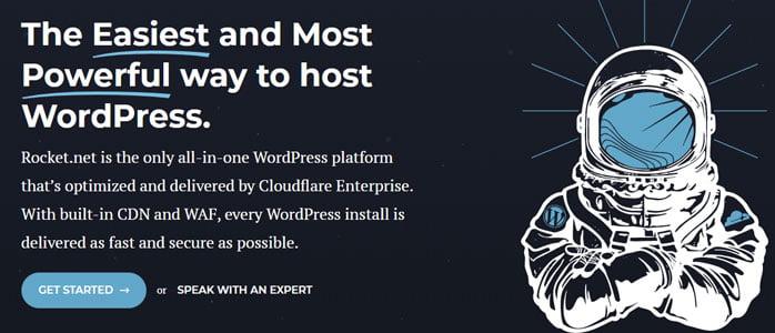 easiest way to launch wordpress