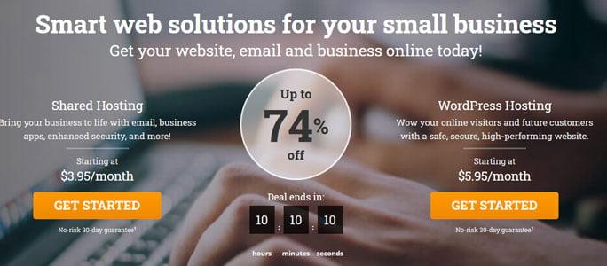 hostpapa web hosting offer
