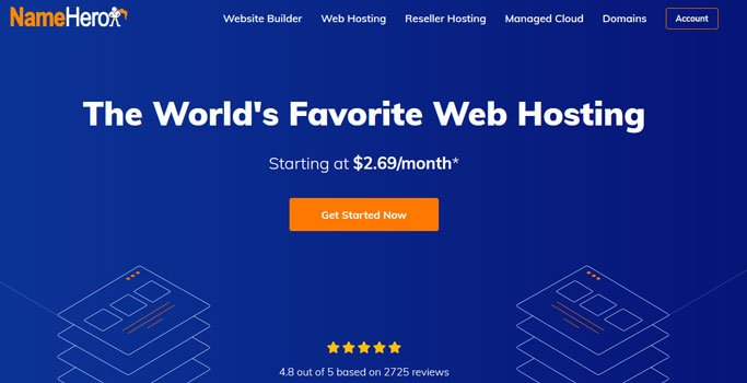 namehero web hosting deal