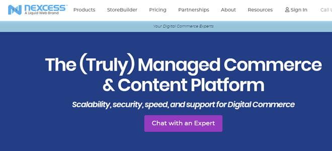 nexcess truly managed commerce hosting platform