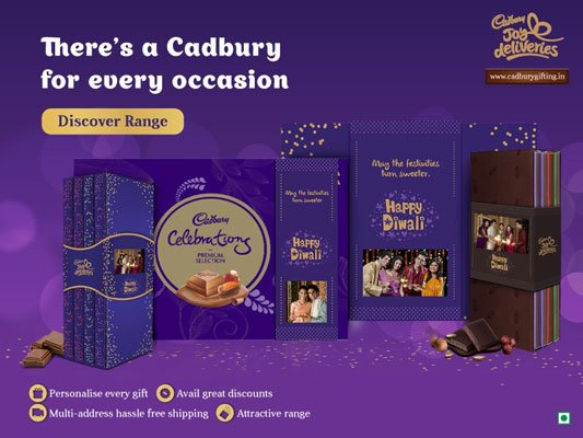 Why choose Cadbury Joy Deliveries Gifting Options