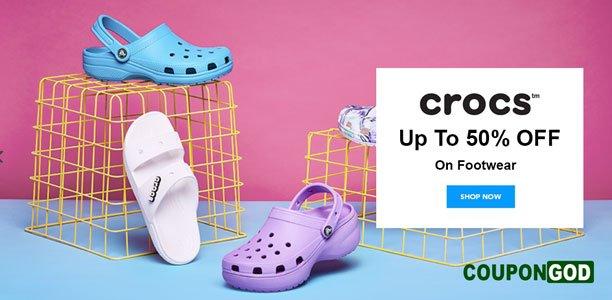 crocs coupons banner
