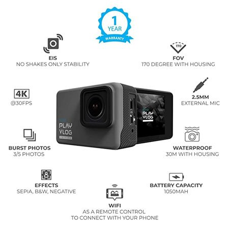 gonoise action camera