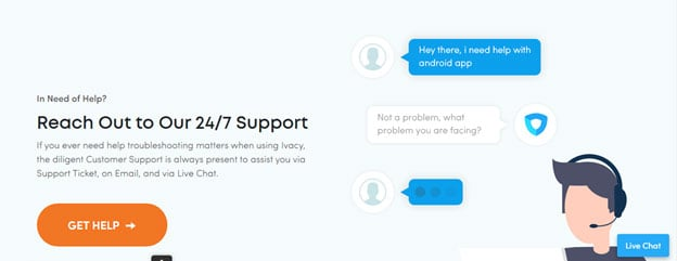 ivacy reliablity and support