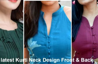 latest Kurti Neck Design Front & Back