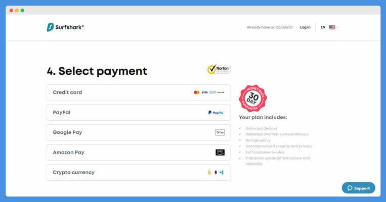 surfshark vpn billing discount