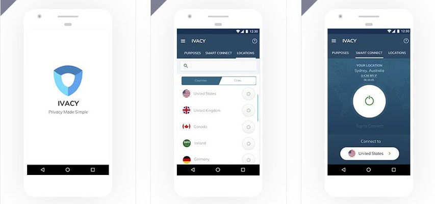 How to use Ivacy VPN App for Android in 3 Steps