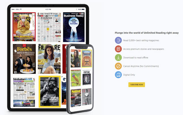 magzter gold India features