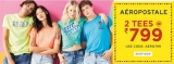 Aeropostale Coupon Code September 2019, 2 Tees @799 by NNNOW