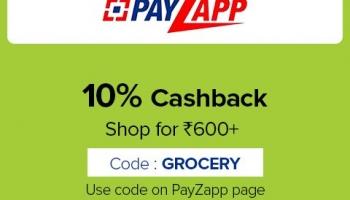 Payzapp Bigbasket Offer May 2020, [10% CASHBACK] on Grocery