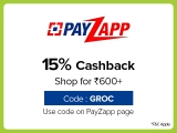 Bigbasket PayZapp Offer May 2020, [15% CASHBACK] on Rs.600