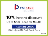 BigBasket RBL Offer, [250 DISCOUNT] on Credit Cards in May 2020