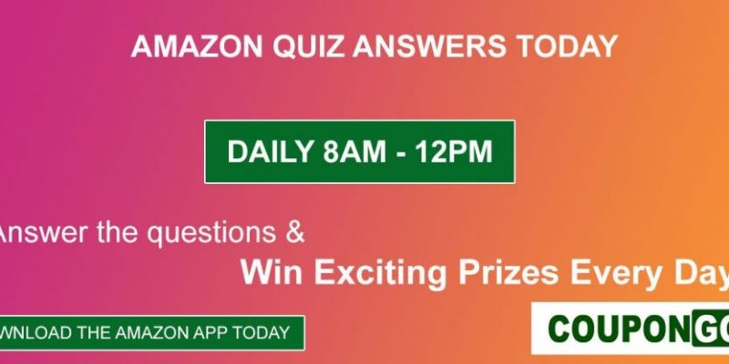 Amazon Quiz Answers Today For 17th Jan 2021: Answer the Quiz & Win Apple iPhone 12