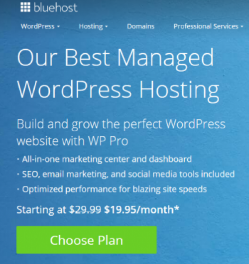 Bluehost.com WP Pro Exclusive Offer
