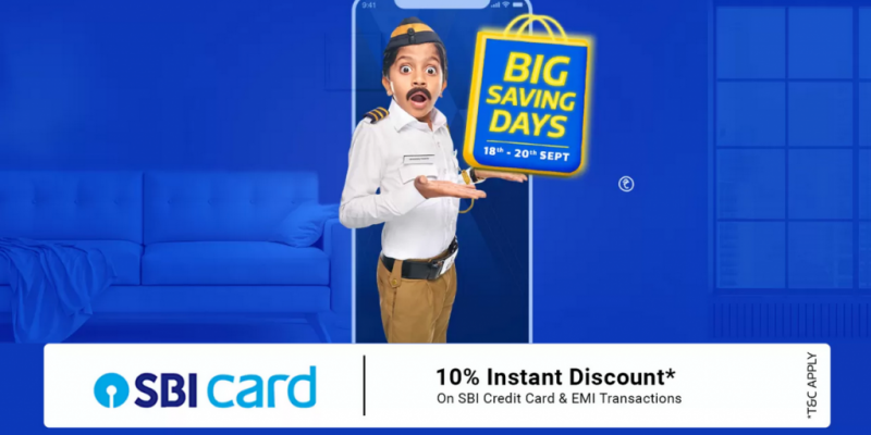Flipkart Big Saving Days Sale Offers: 18th – 20th September
