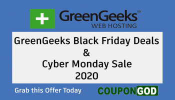 GreenGeeks Black Friday Deals 2020 & Cyber Monday Sale -Web Hosting Offer at $2.49/m