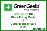 GreenGeeks Black Friday Deals 2020 [75% OFF] Exclusive Offer $2.49/m only