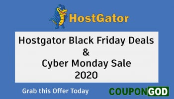 HostGator Black Friday Deals 2020 & Cyber Monday Sale – Web Hosting Offers