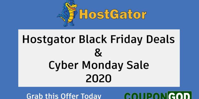 HostGator Black Friday Deals 2020 & Cyber Monday Sale – Web Hosting Offers