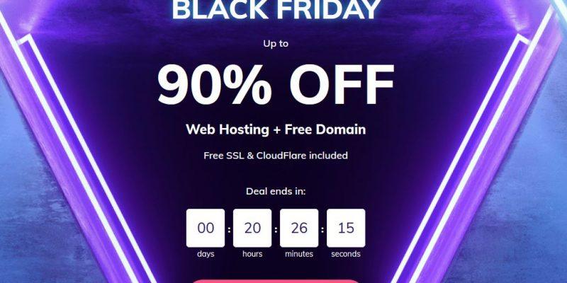 Hostinger Black Friday Deals 2020 & Cyber Monday Sale: 90% OFF on Web Hosting