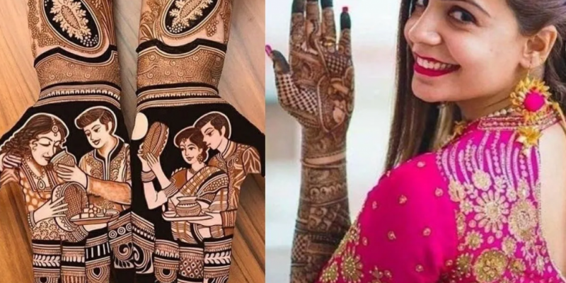 Mehndi and Makeup ideas for Karwa Chauth