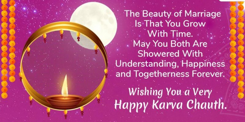 Karwa Chauth wishes and status for 2020