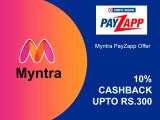 Myntra Payzapp Offer [300 CASHBACK] on Myntra Shopping 2021